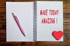 Gör i dag att förbluffa! Royaltyfri Bild
