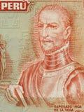 Gr Inca Garcilaso DE La Vega Royalty-vrije Stock Fotografie