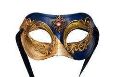 gr? isolerad maskering f?r karneval royaltyfria foton