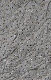 Gr? konkret texturbakgrund skada Sprucken stenv?ggbakgrund fotografering för bildbyråer