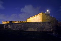 Gr Morro Oud San Juan Stock Fotografie
