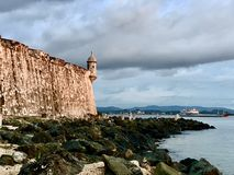 Gr Morro, Oud San Juan Puerto Rico stock foto