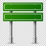 gr?n teckentrafik Panel f vektor illustrationer