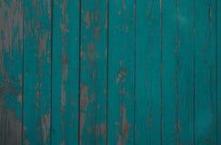 gr?ne h?lzerne Beschaffenheit vom gr?nen Hintergrund der breiten trockenen Bretter vom alten Holz lizenzfreie stockfotografie
