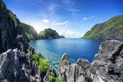 Gr Nido, Palawan - Filippijnen Royalty-vrije Stock Afbeeldingen