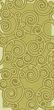 grön scrollwork för bakgrund Fotografering för Bildbyråer