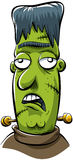 grönt monster Royaltyfria Foton