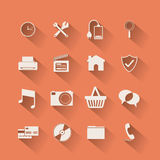 2014 11 12 GR 783 P. Symbol, design over orange background, vector illustration Stock Illustration