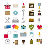 2014 11 13 GR 784 P. Symbols design over white background, vector illustration Stock Photography