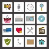2014 11 13 GR 784 P. Symbols design over white background, vector illustration Royalty Free Illustration
