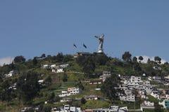 Gr Panecillo, Quito Stock Afbeelding