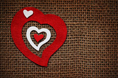 Grępluje dla valentines dnia Obraz Stock