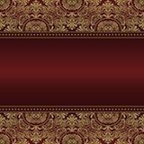 grępluje eleganckiego zaproszenie Koronkowa wektorowa ilustracja dla invitatio Obraz Royalty Free