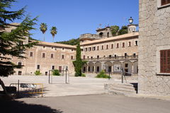 Gr Santuari DE Lluc Mallorca Spanje Stock Foto's