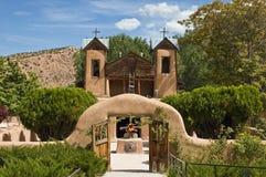 Gr Santuario DE Chimayo Royalty-vrije Stock Fotografie