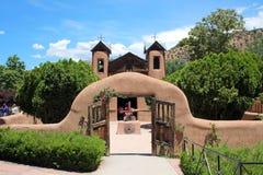 Gr Santuario DE Chimayo Stock Afbeeldingen