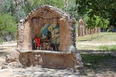 Gr Santuario DE Chimayo Stock Foto's