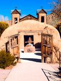 Gr Santuario DE Chimayo in Chimayo, New Mexico royalty-vrije stock foto
