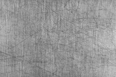 grå skrapad tabell för aluminium bräde Royaltyfria Foton