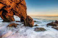 Gr Stierenvechter Beach Royalty-vrije Stock Foto's