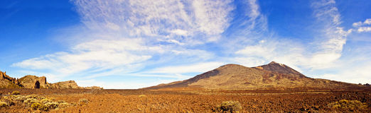 Gr Teide royalty-vrije stock foto