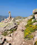 Gr20 trail in Corsica Stock Images