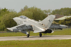 GR4 Tornado. On touch down Stock Images