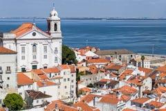 Graça kloster i Lissabon, Portugal Royaltyfria Bilder
