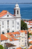 Graça kloster i Lissabon, Portugal Royaltyfri Fotografi