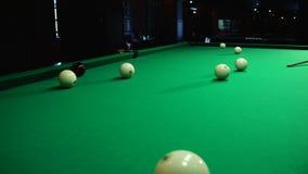 Gra billiards zbiory wideo