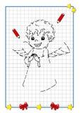 Gra boże narodzenia, anioł Zdjęcie Stock