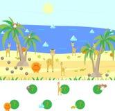 Gra dla dzieci znajduje i liczy Ilustracji