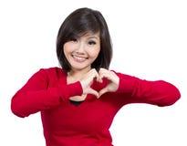 göra en gest nätt barn för flicka Royaltyfri Foto