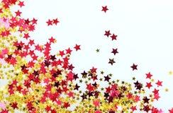 Gra główna rolę confetti Zdjęcie Royalty Free