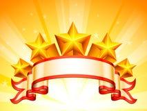 Gra główna rolę sztandar Fotografia Royalty Free