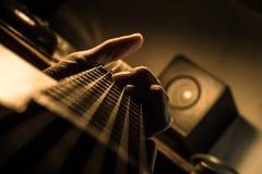 gra gitara Obraz Stock