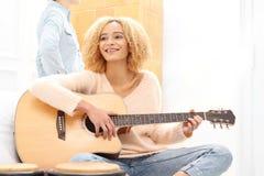 gra gitara zdjęcie royalty free