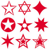 Grać główna rolę symbol Obraz Royalty Free