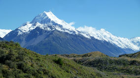 góra kucbarska nowe Zelandii Obrazy Stock