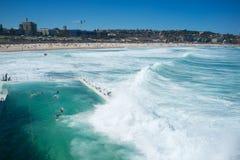 Góra lodowa basen, Bondi plaża, Sydney, Australia Fotografia Stock