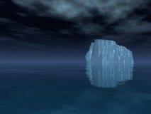 góra lodowa otwarte morze Obraz Royalty Free