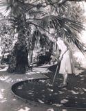 Gra miniaturowy golf zdjęcia stock