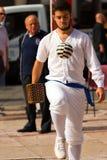 Gra piłka z bransoletką - Treia Włochy Obraz Stock