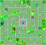 Gra planszowa dla młodych dzieci z kostka do gry Zdjęcie Stock