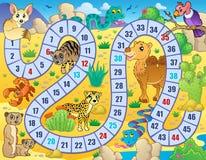 Gra planszowa tematu wizerunek 2 Obrazy Royalty Free