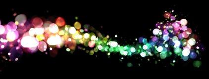göra sammandrag lampor Arkivfoto