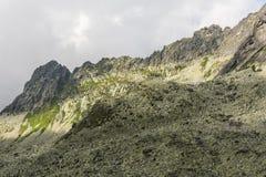 Grań - Siarkanska Gran (J vedlajsi hrebem Vysokej, Draci hreben) Obraz Royalty Free