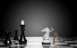 Gra szachy Obrazy Stock