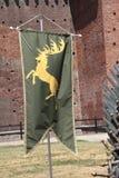 Gra trony, Mediolan 2017 Zdjęcia Royalty Free