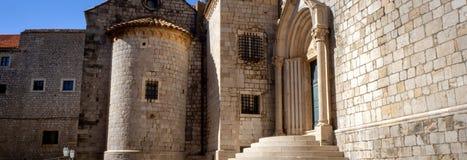 Gra Ustawiająca w Dubrovnik trony Strzela zdjęcie royalty free